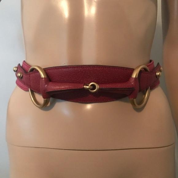 3c1091b0d22e Gucci Accessories | Auth Bamboo Monogram Belt Small | Poshmark
